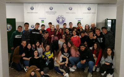 Alumnos del colegio visitan un centro de F.P.