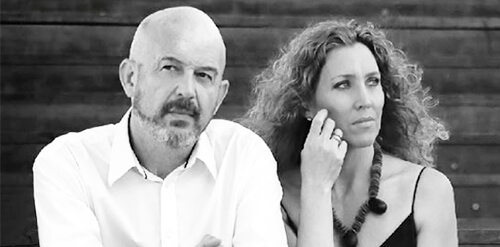 Nacho Mañó y Gisela Renes