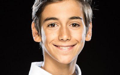 """Óscar Pérez: de alumno del colegio, a protagonizar """"Billy Elliot""""."""