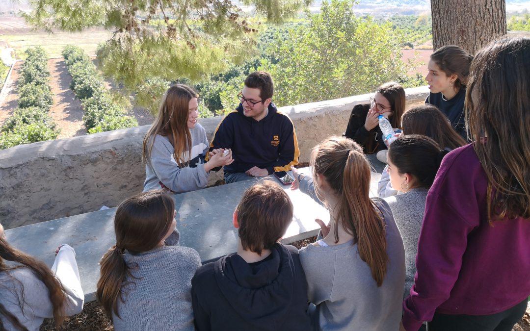 Los alumnos de ESO1 disfrutan de sus convivencias
