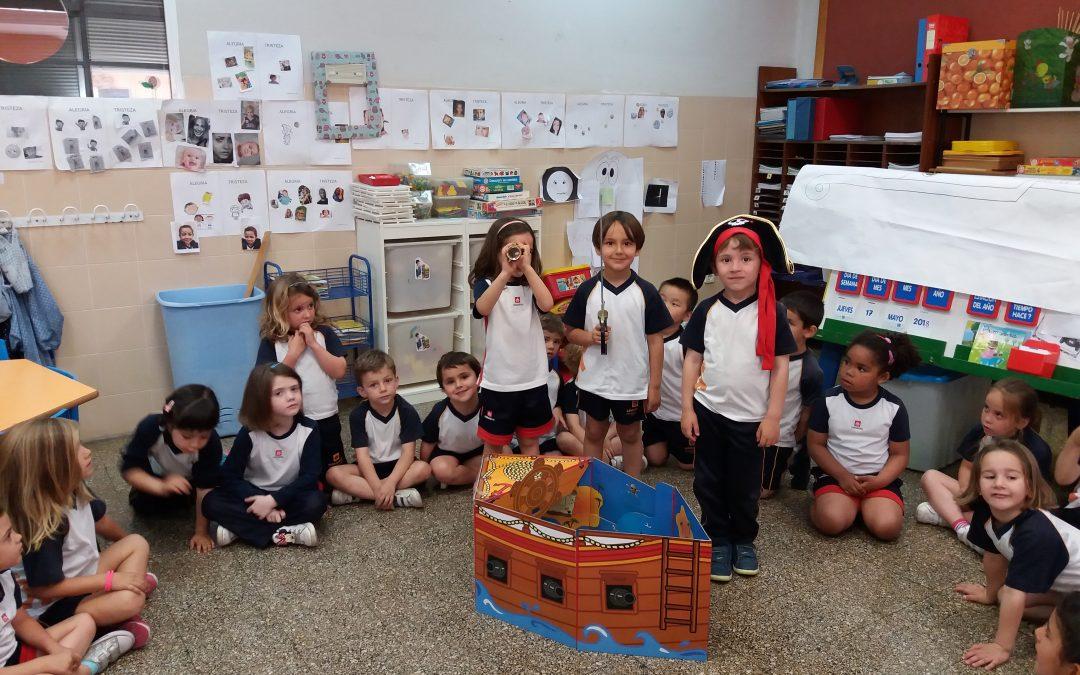 Aventuras Piratas en 2º Ed. Infantil