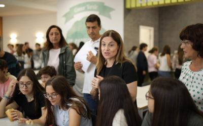 Acto de conclusión del proyecto ApS Móviles Solidarios (3º ESO)
