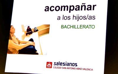 Entrega de notas de la 1ª Evaluación en Bachillerato.